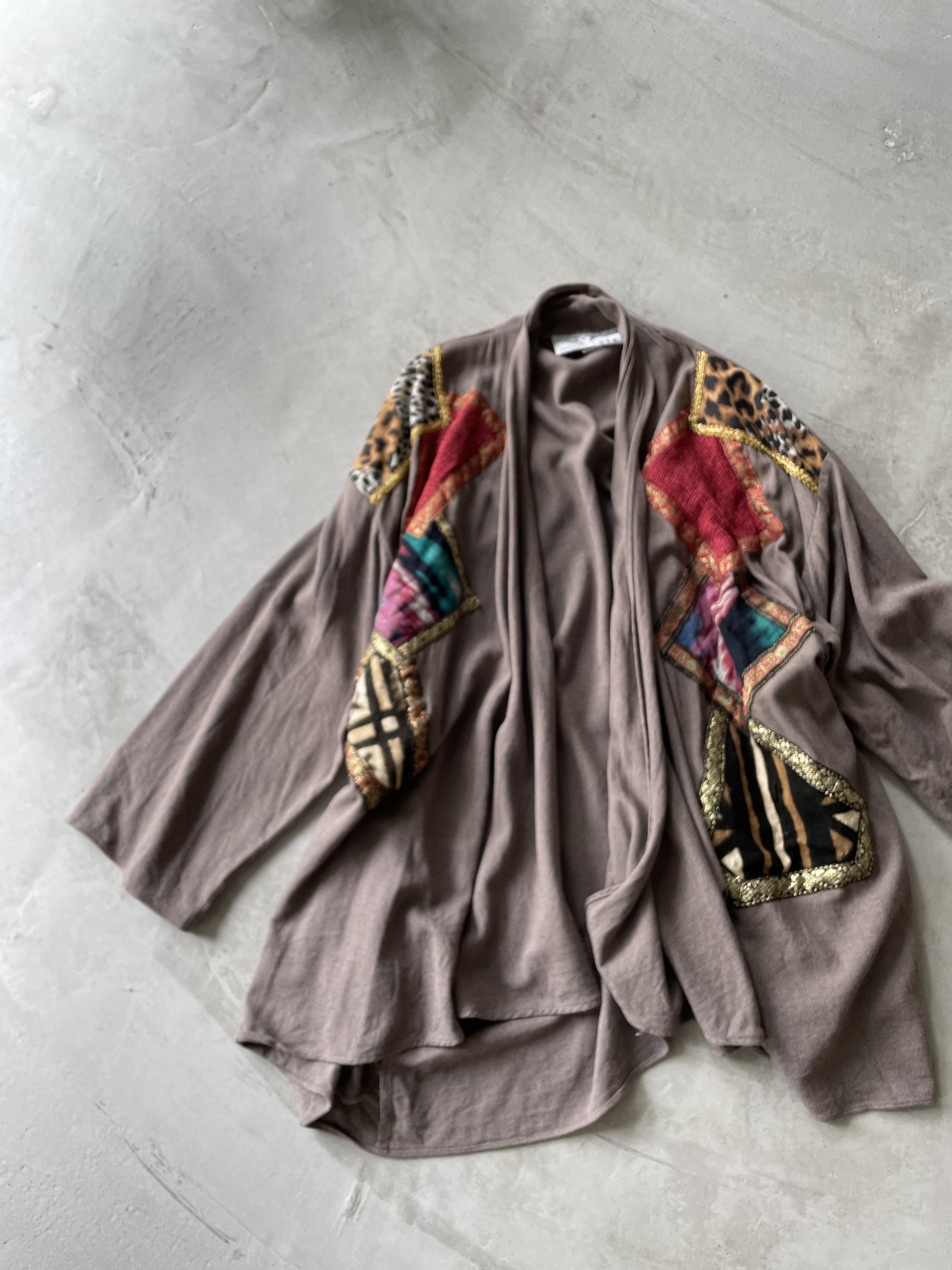 80's usa vintage design cardigan