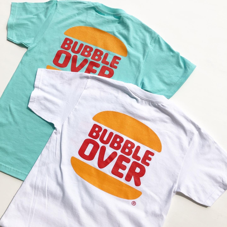 """BUBBLE OVER """"Bub's Burger"""" S/S Tee バブルオーバー""""バブズ・バーガー""""Tシャツ"""