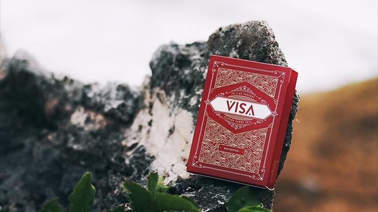 Visa Red by Patrick Kun and Alex Pandrea