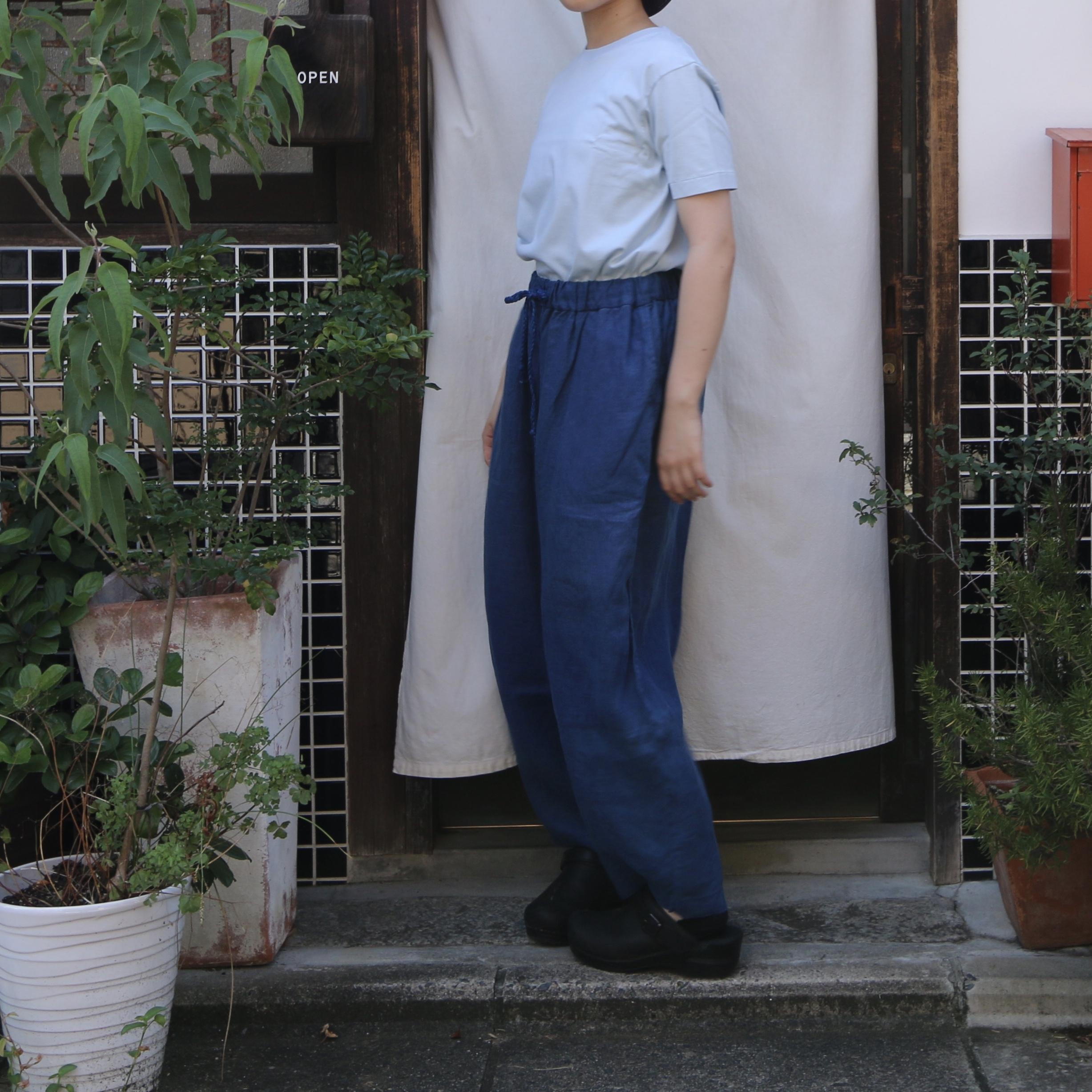 YAECA / ヤエカ クルーネックTシャツ gentian #81042