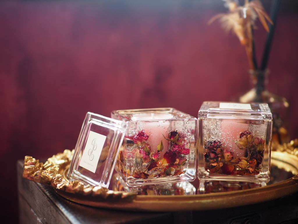 Flower aroma candle 6