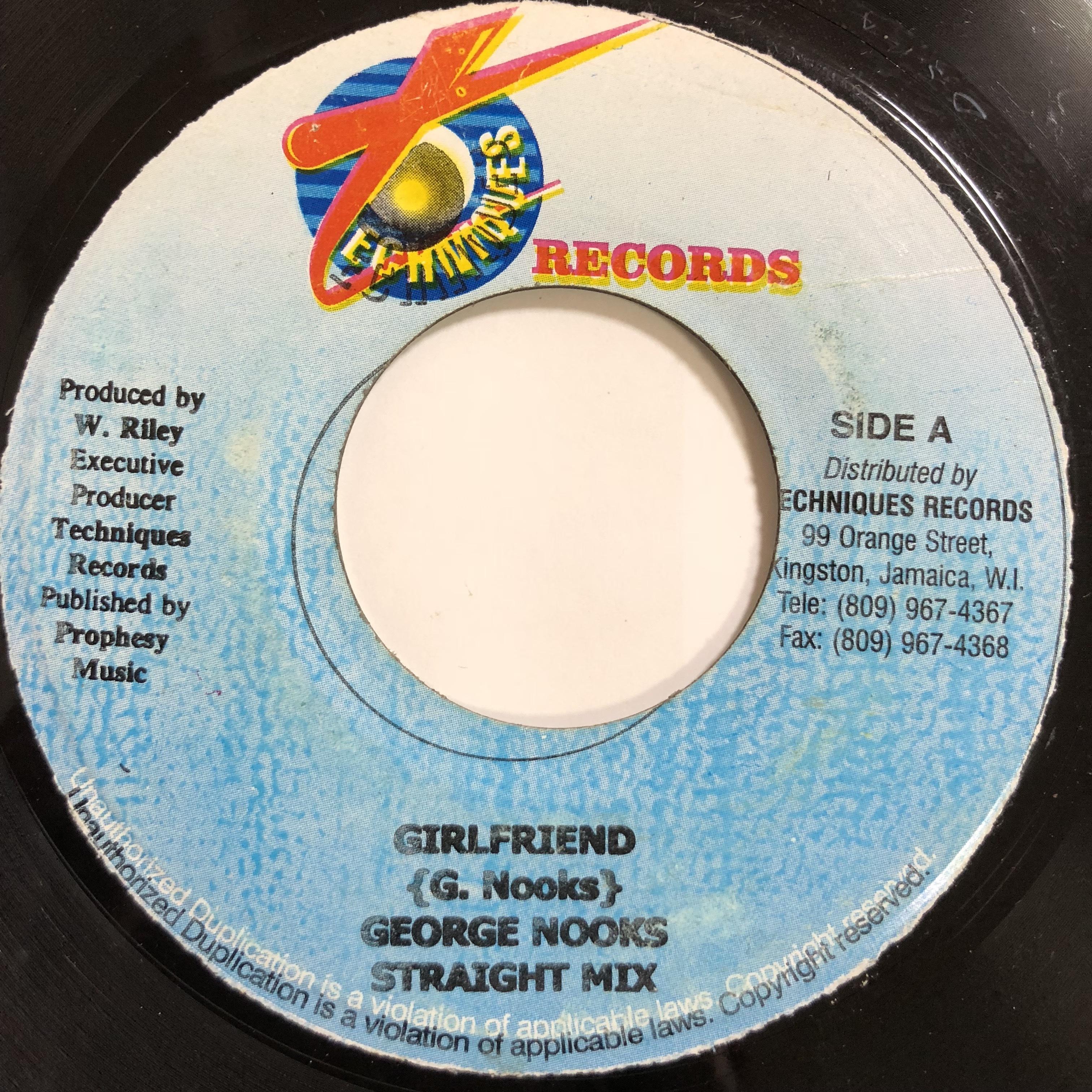 George Nooks(ジョージヌークス) - Girl Friend【 7'】