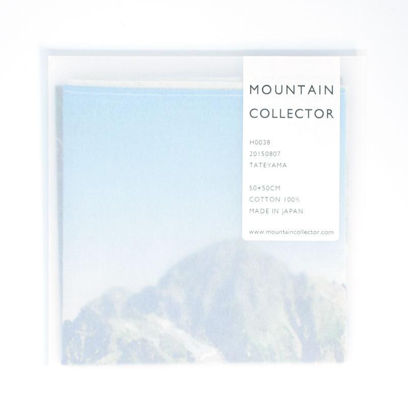 MOUNTAIN COLLECTOR(マウンテンコレクター)H0038 TATEYAMA ハンカチ