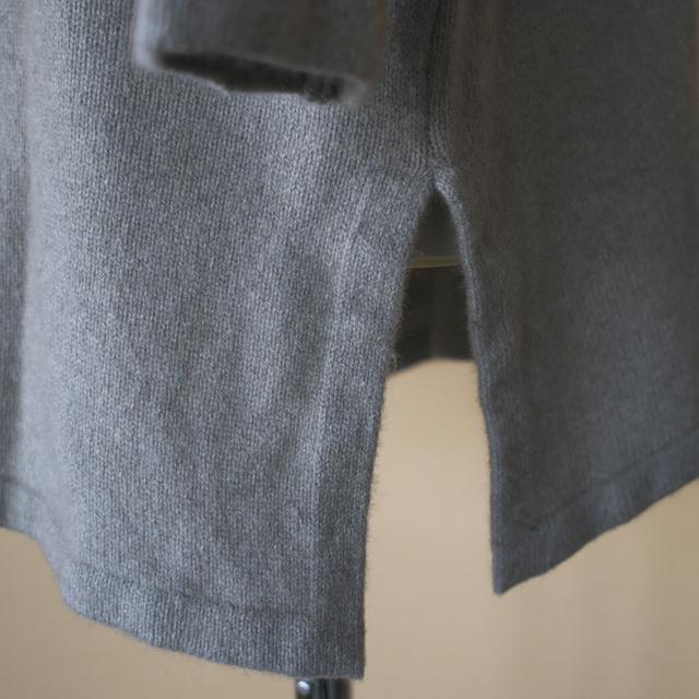evam eva エヴァムエヴァ wool sable turtleneck tunic