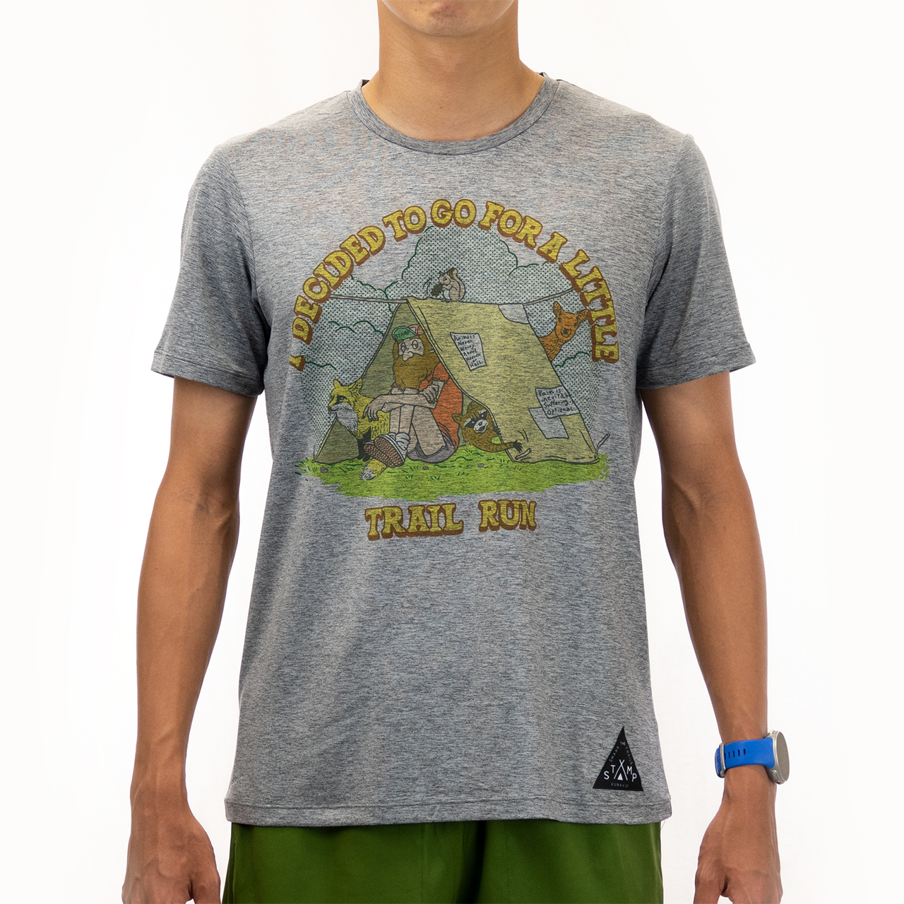 STAMP RUN & CO / DAILY TEE (Life in the woods)