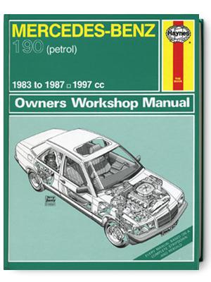 メルセデス・ベンツ 190・1983-1987・オーナーズ・ワークショップ・マニュアル