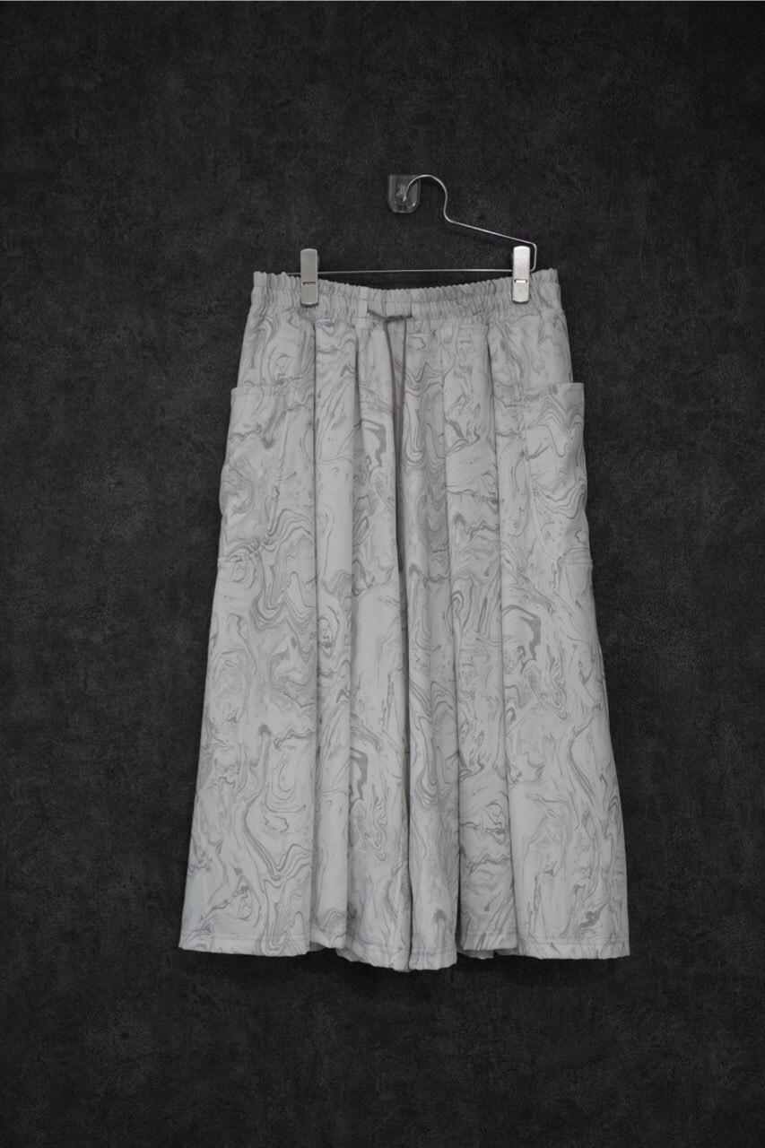 カクレミ by inbi  marble hakama pants
