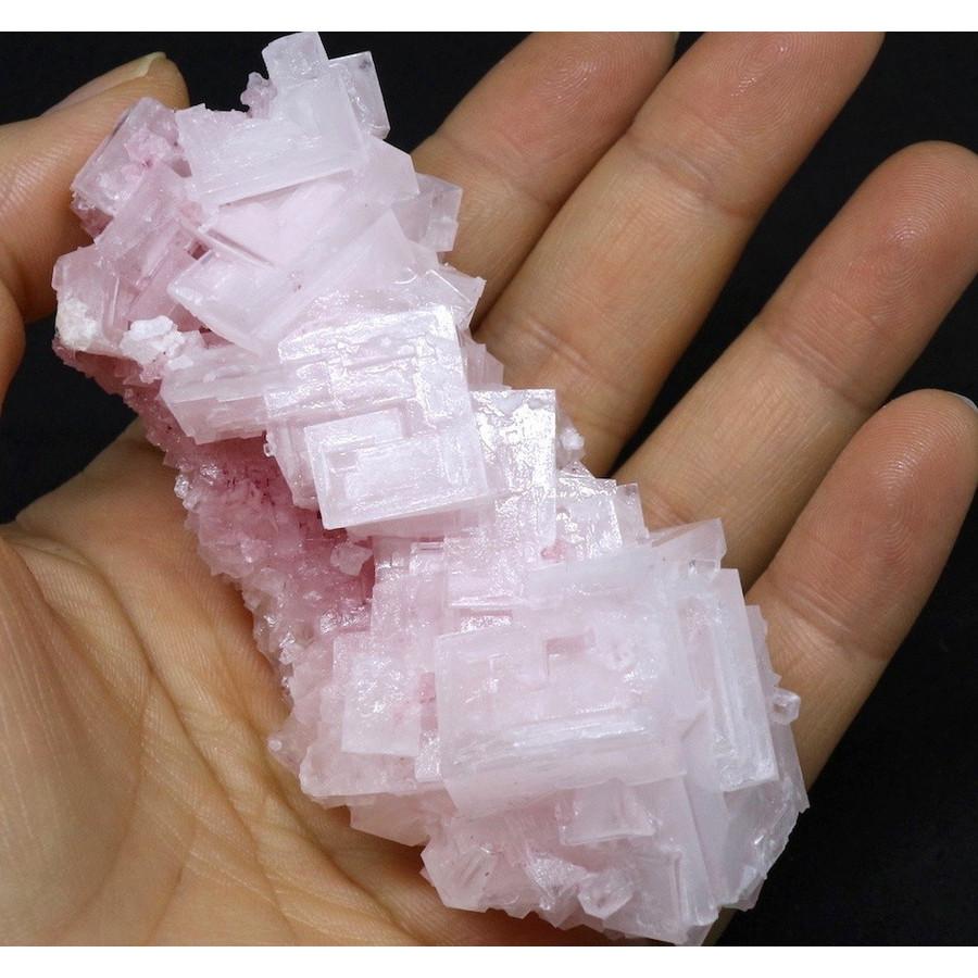 ピンクハーライト カリフォルニア産 88,4g 岩塩 PH032