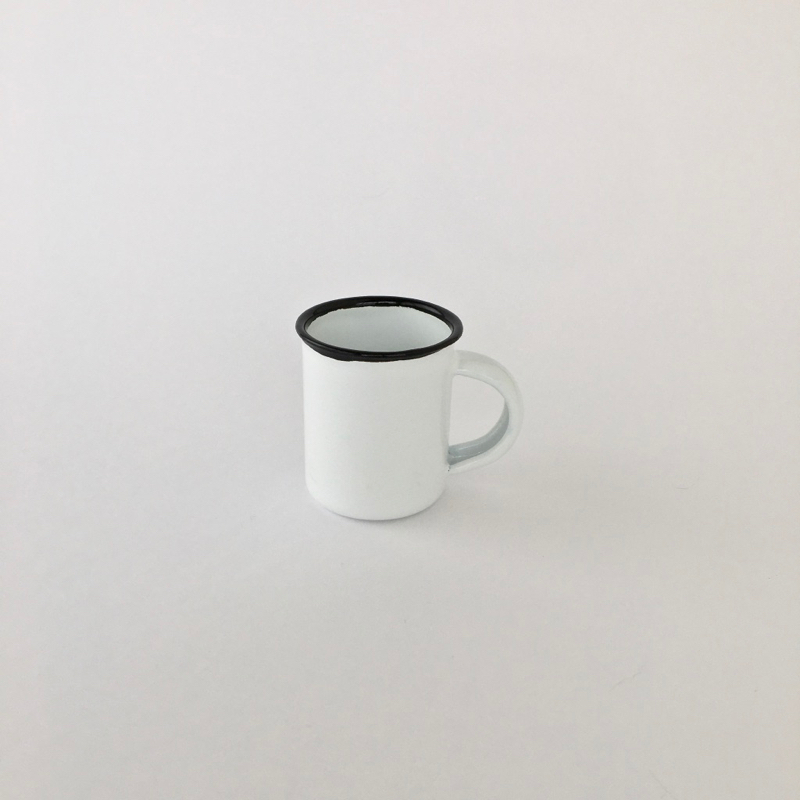 【訳ありセール】ホーローのエスプレッソマグ|【Substandard】Enamel Espresso Mug