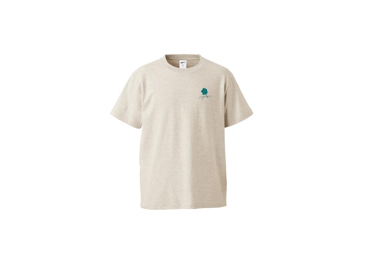 Rose T-shirt(otm/grn)
