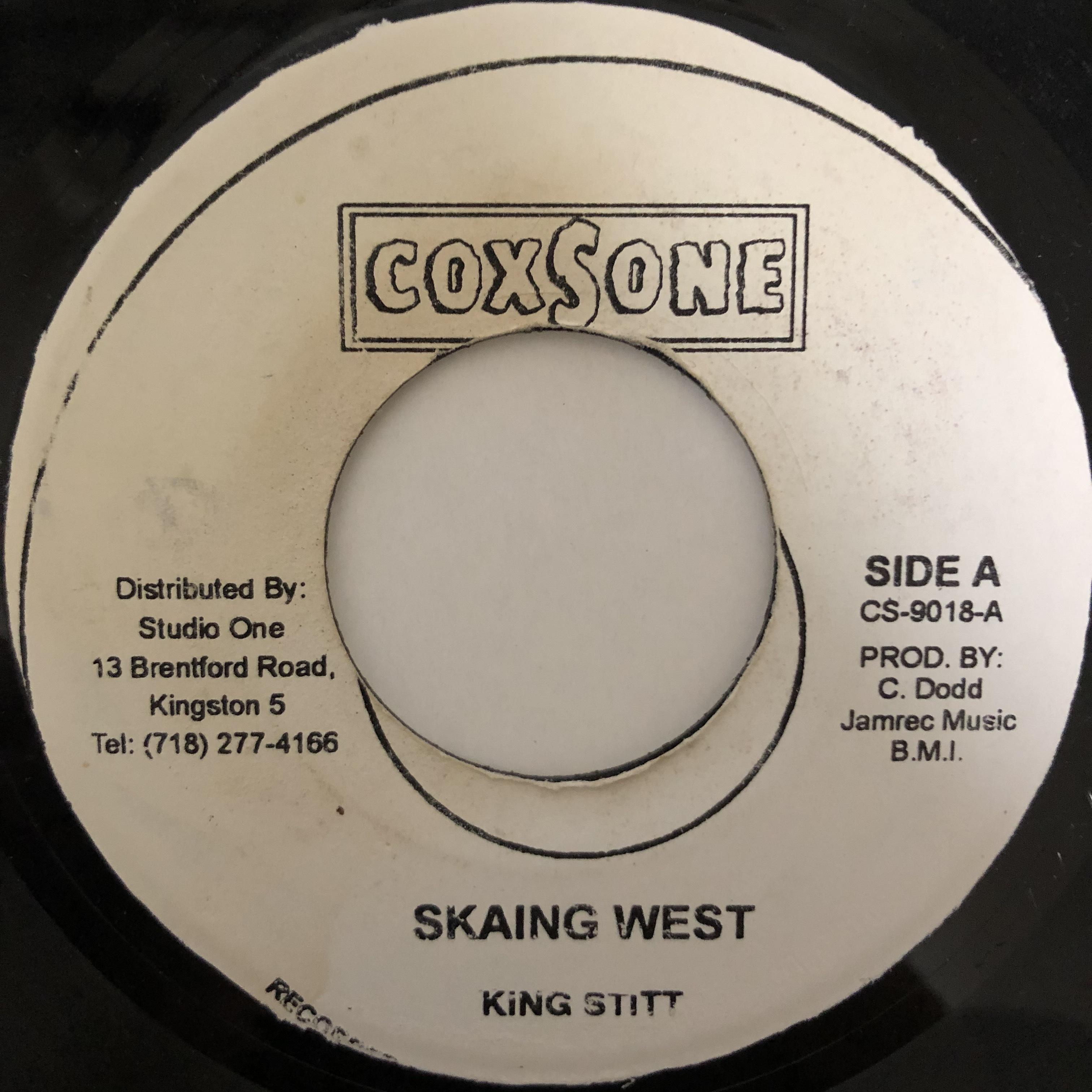 King Stitt – Skaing West【7-20432】