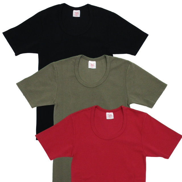 French U-Neck Tee 【OR GLORY】