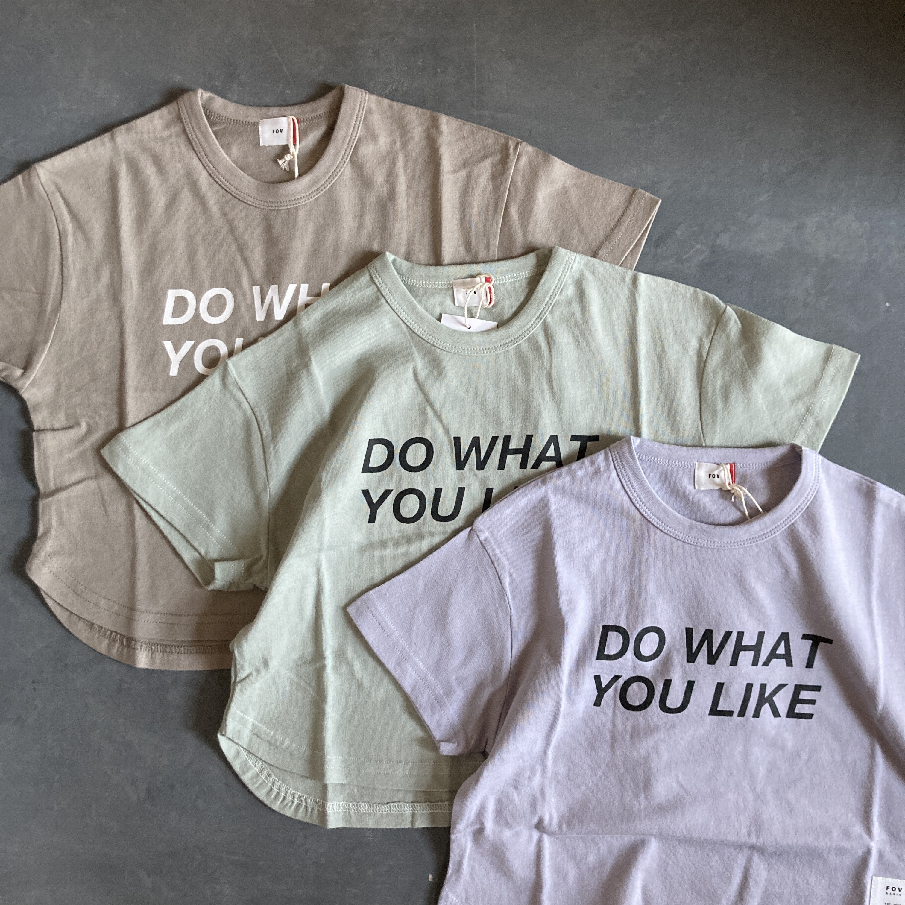 FOV  DO WHAT YOU LIKE Tシャツ  601417