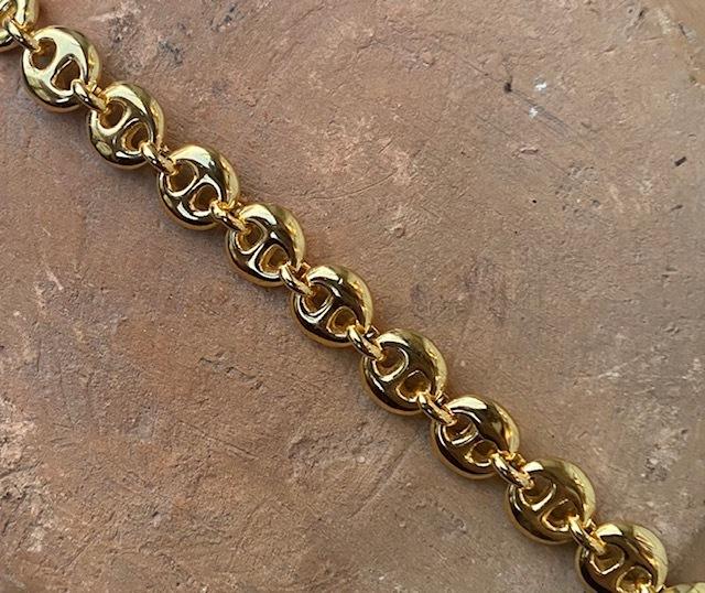 SOPHIE BUHAI   [GOLD SMALL CIRCLE LINK BRACELET]