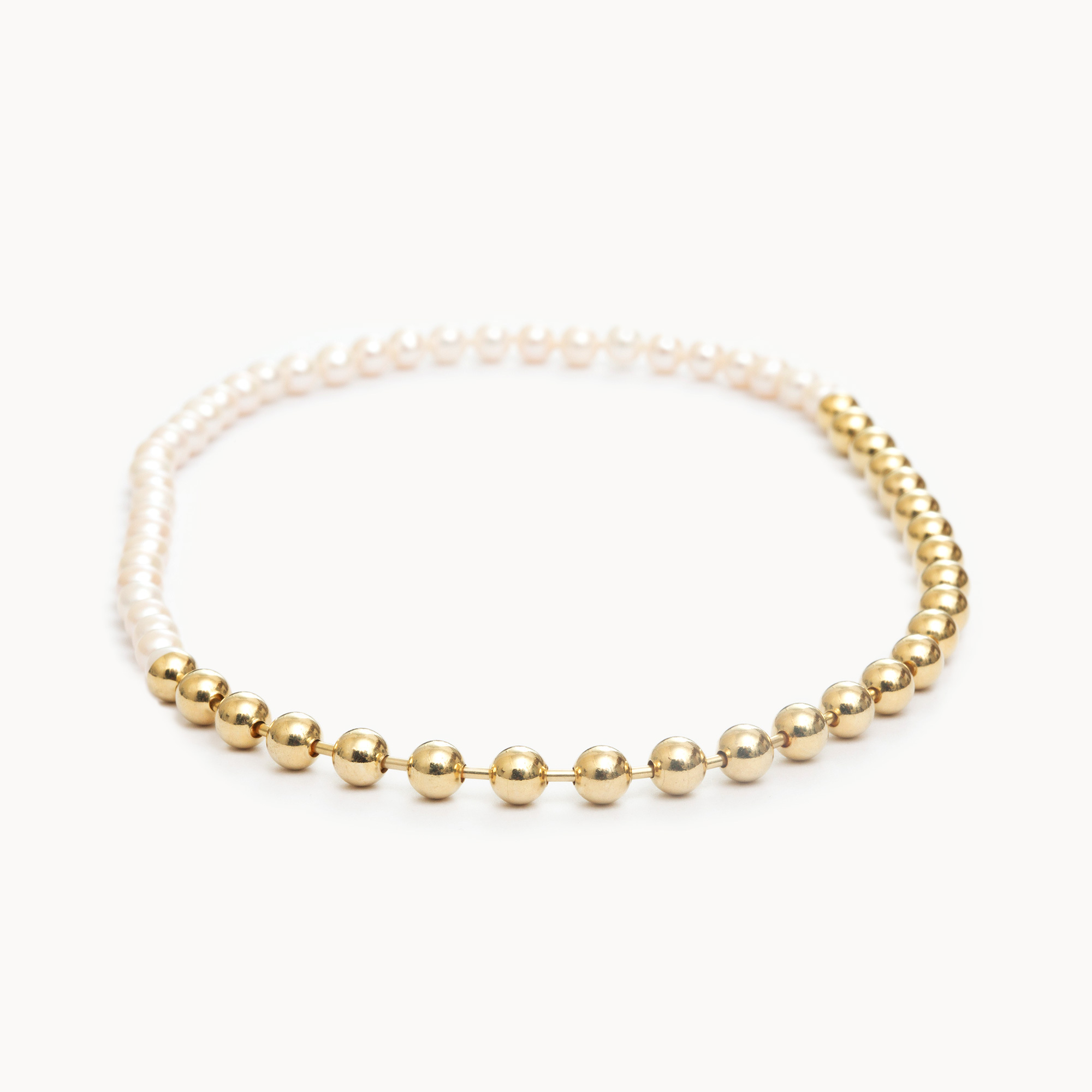 Ball Chain / Pearl Necklace|ネックレス - art.1803N091020