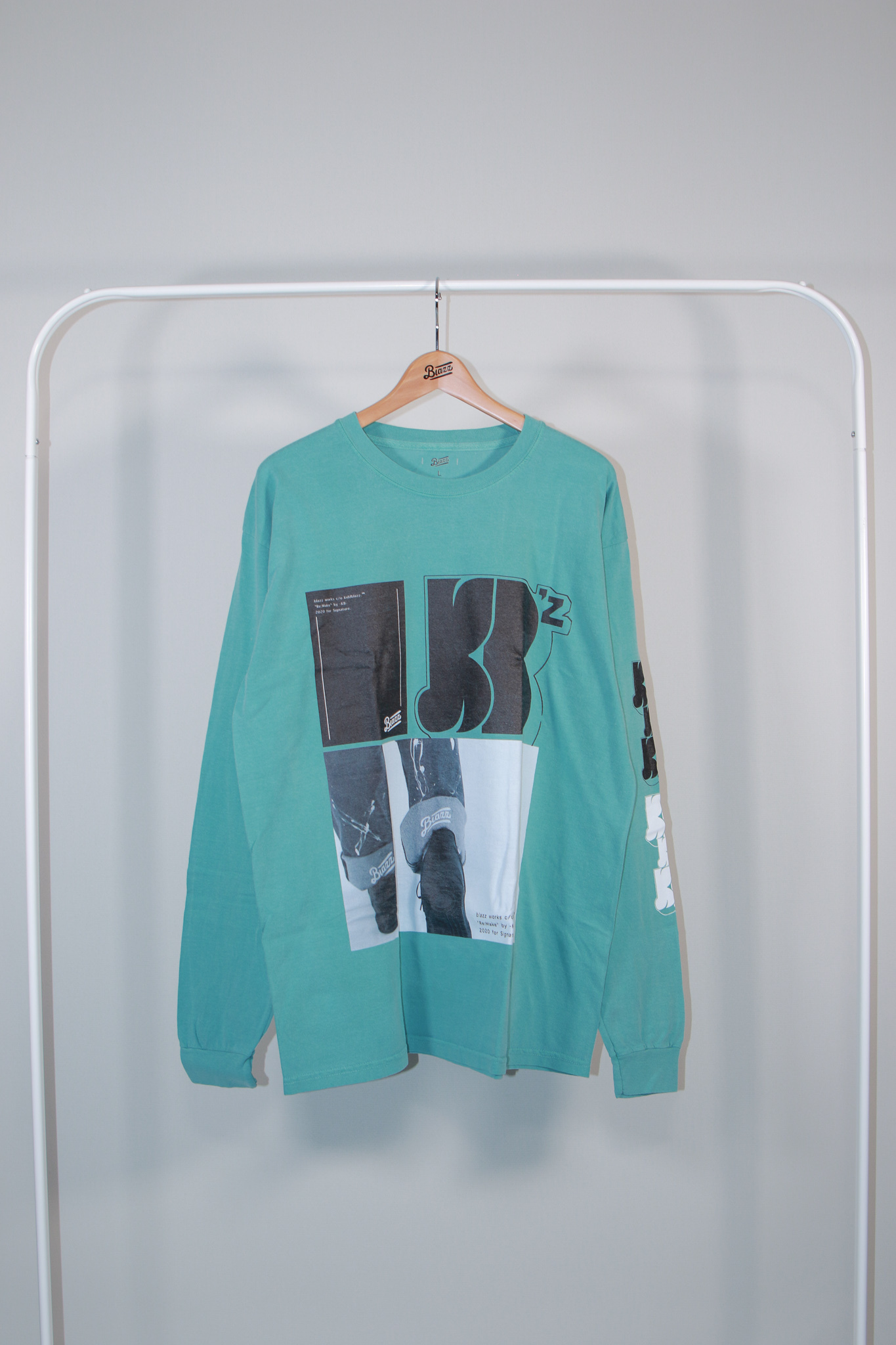 KB VINTAGE BIG L/S TEE [FOREST]