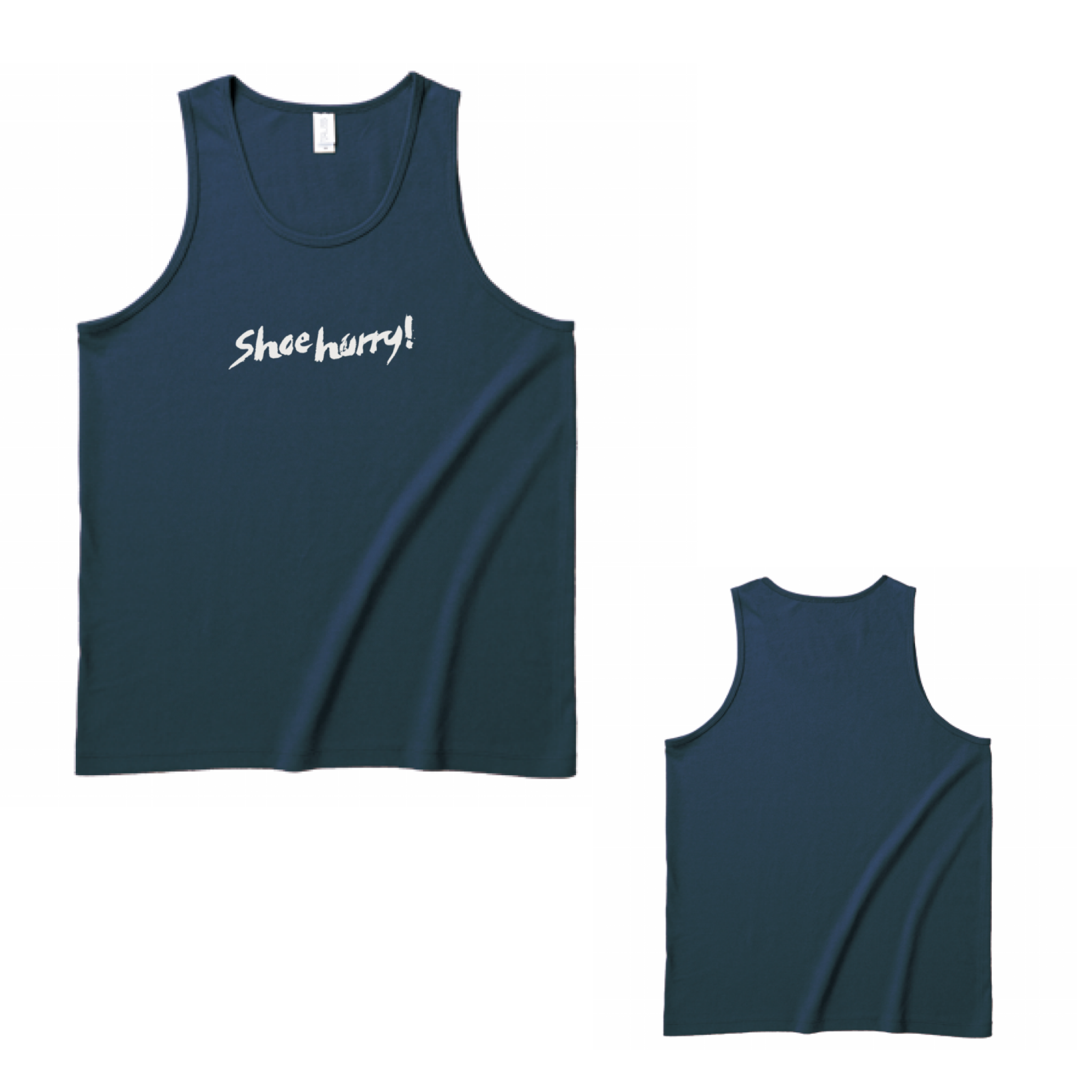 SHOEHURRY LOGO TANKTOP|タンクトップ(ネイビー/ホワイト)
