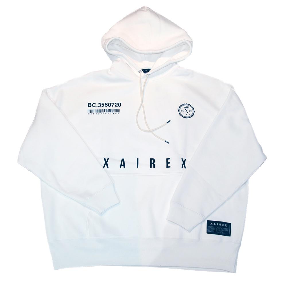 XAIREX VC HOODIE (WHITE)[XAI-0033]