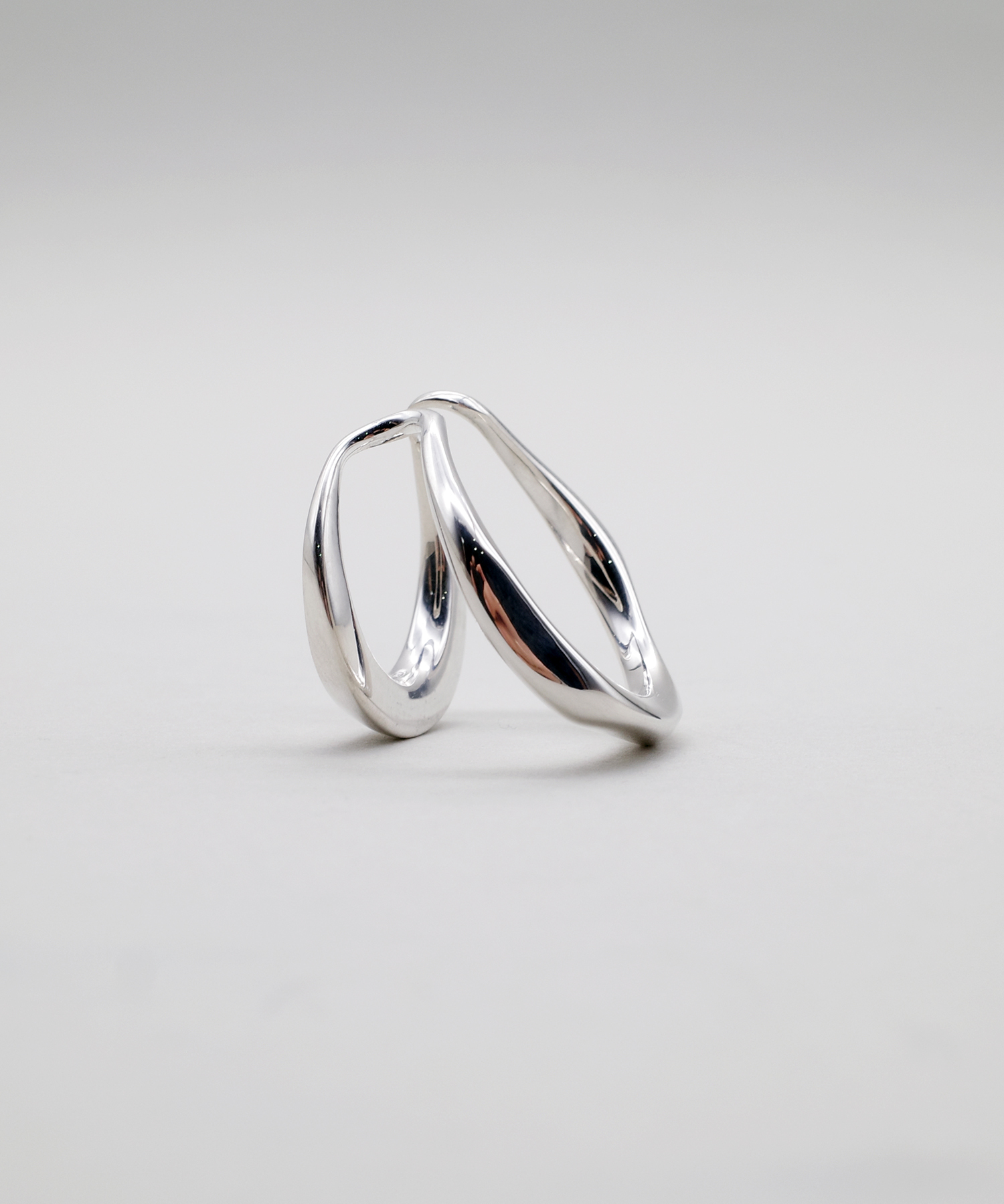 【blanc iris/ ブランイリス】Volute collection  Sterling Silver Ear Cuff /イヤーカフ