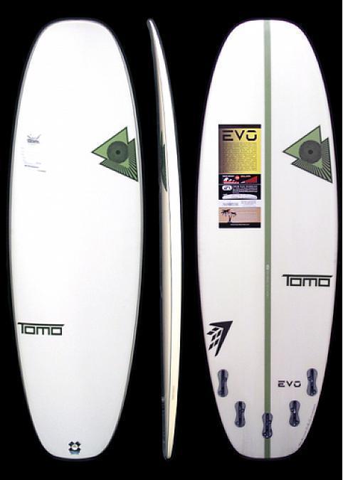 Firewire X Tomo EVO 5'2 x 18 3/4 x 2 5/16 25.9L 5-Fin LFT Surfboard