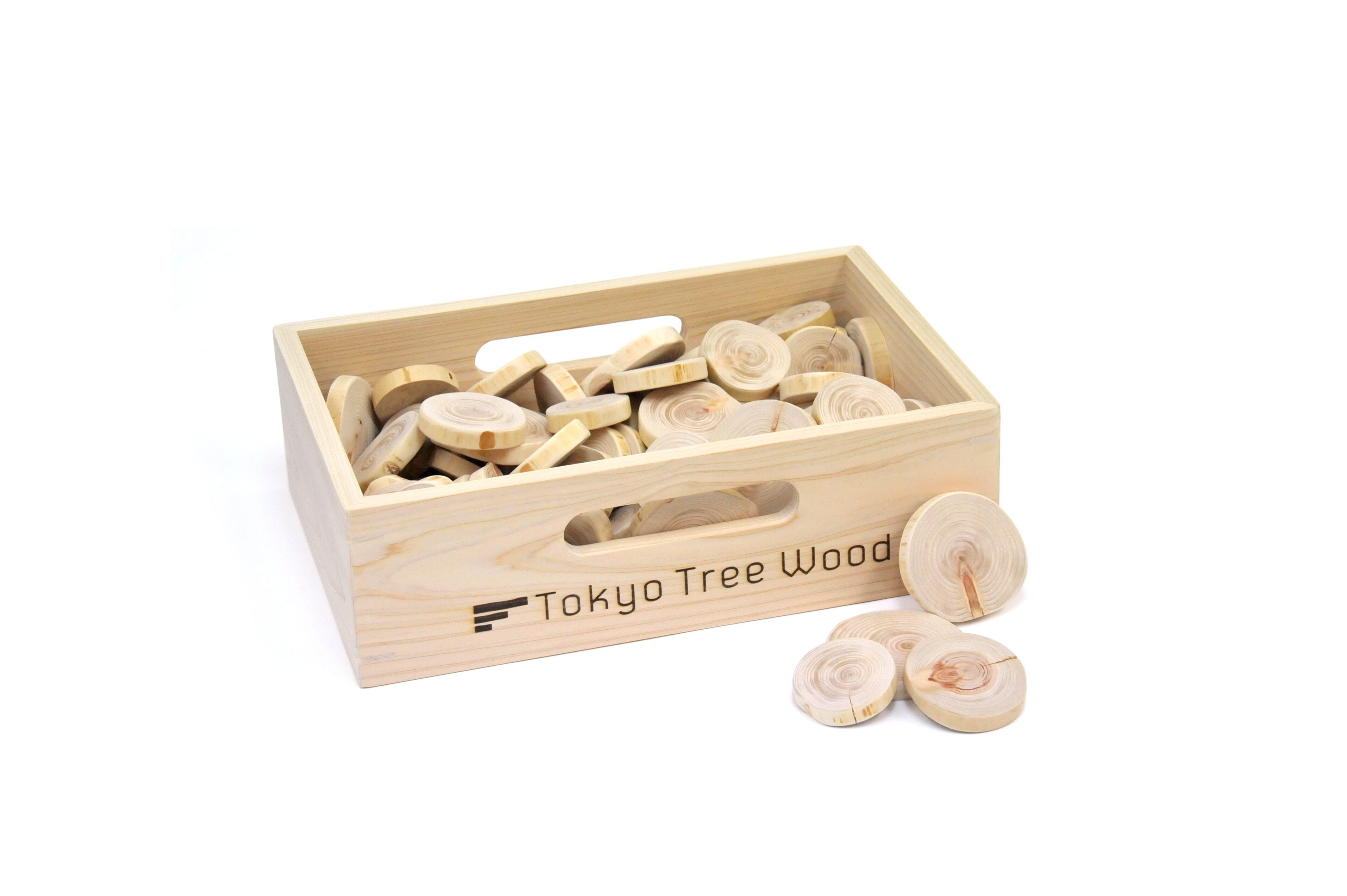 Tokyo Tree Wood コグチギリ 木箱入り