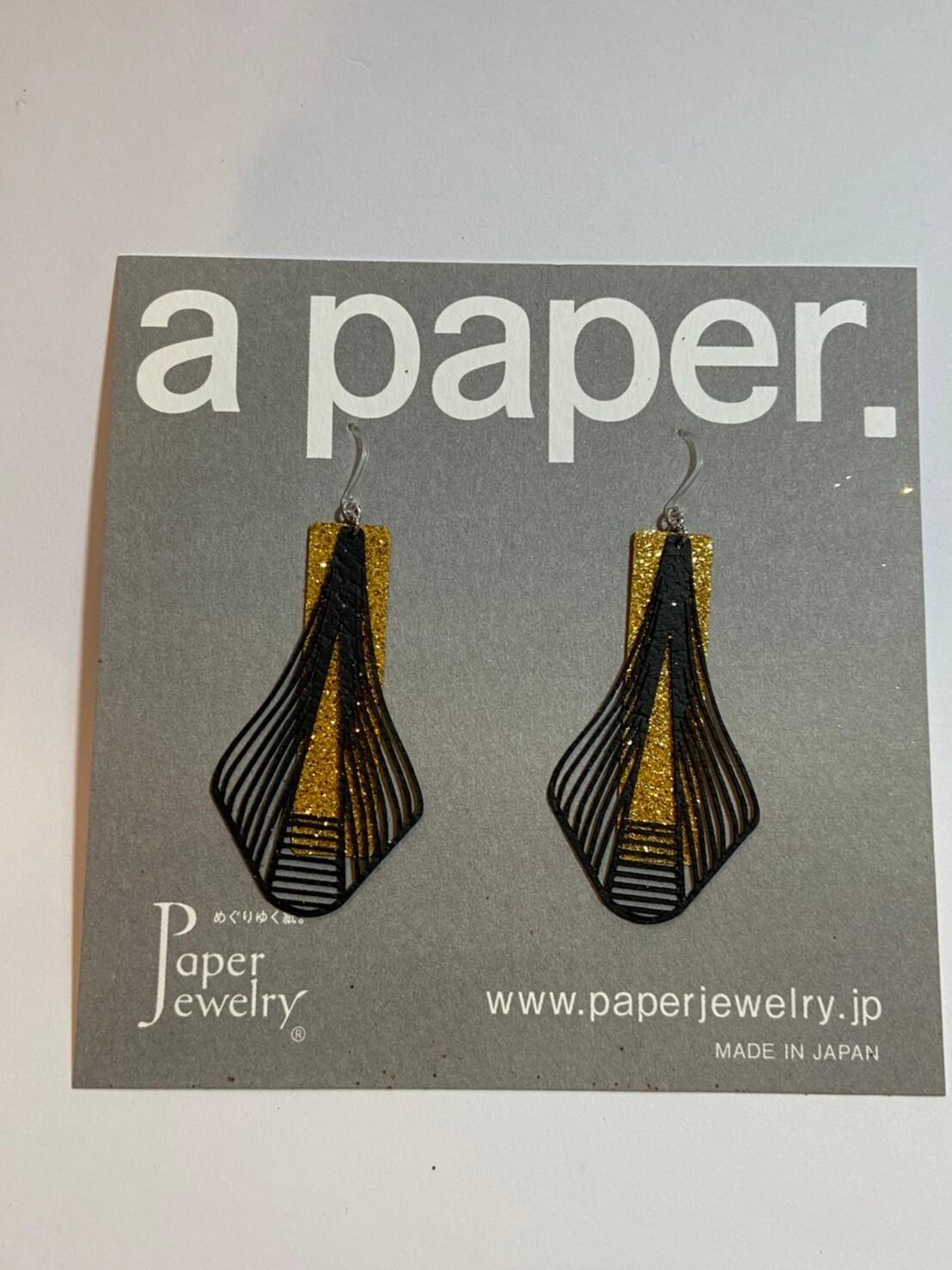 【Paper Jewely】タワー/ピアス