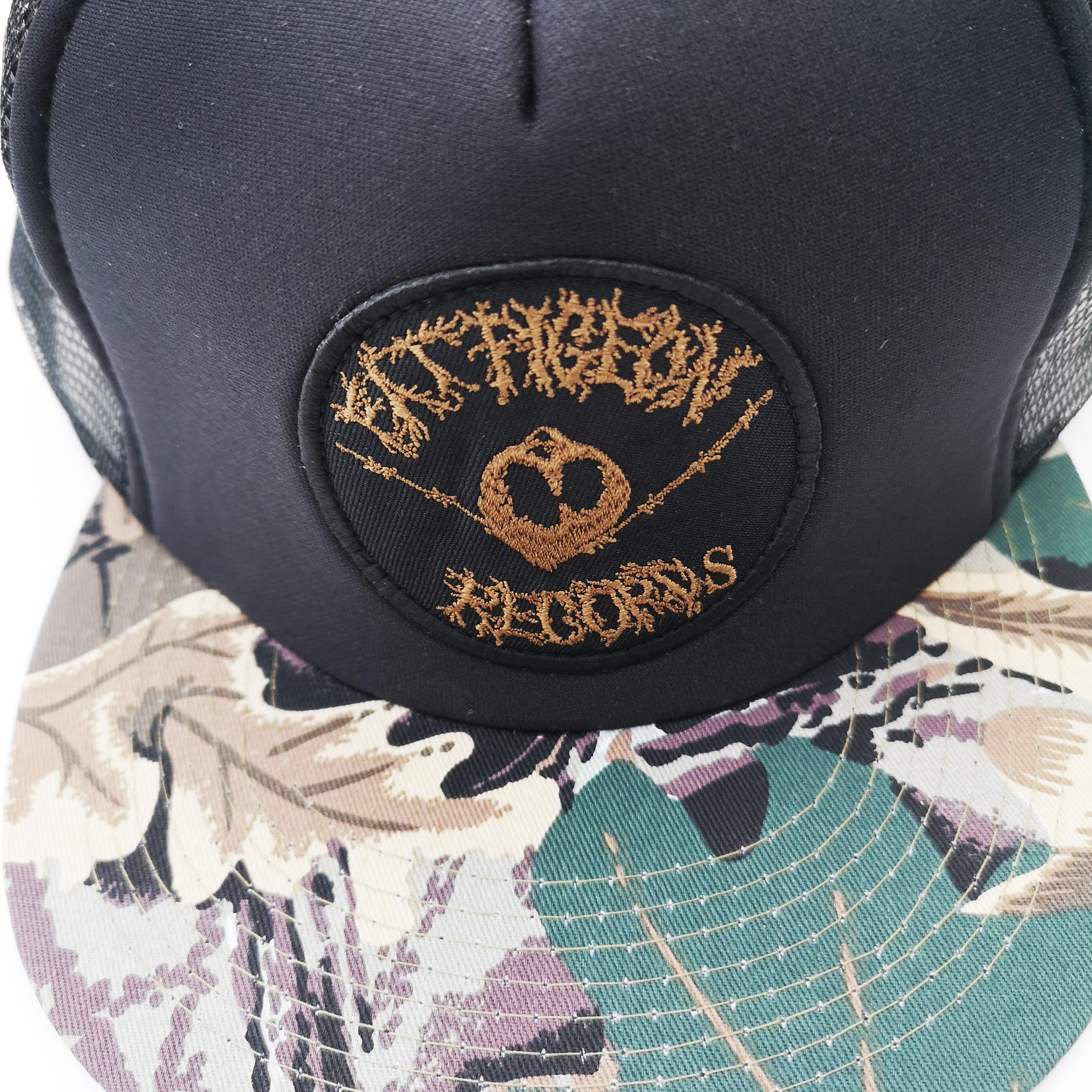 FAT PIGEON RECORDS CAMO MESH CAP