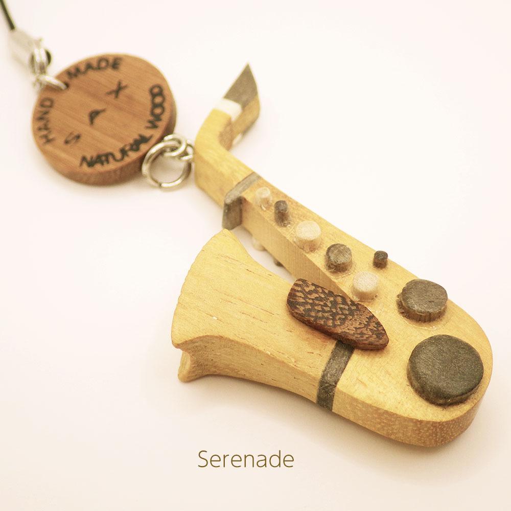 サックス 木製楽器ストラップ