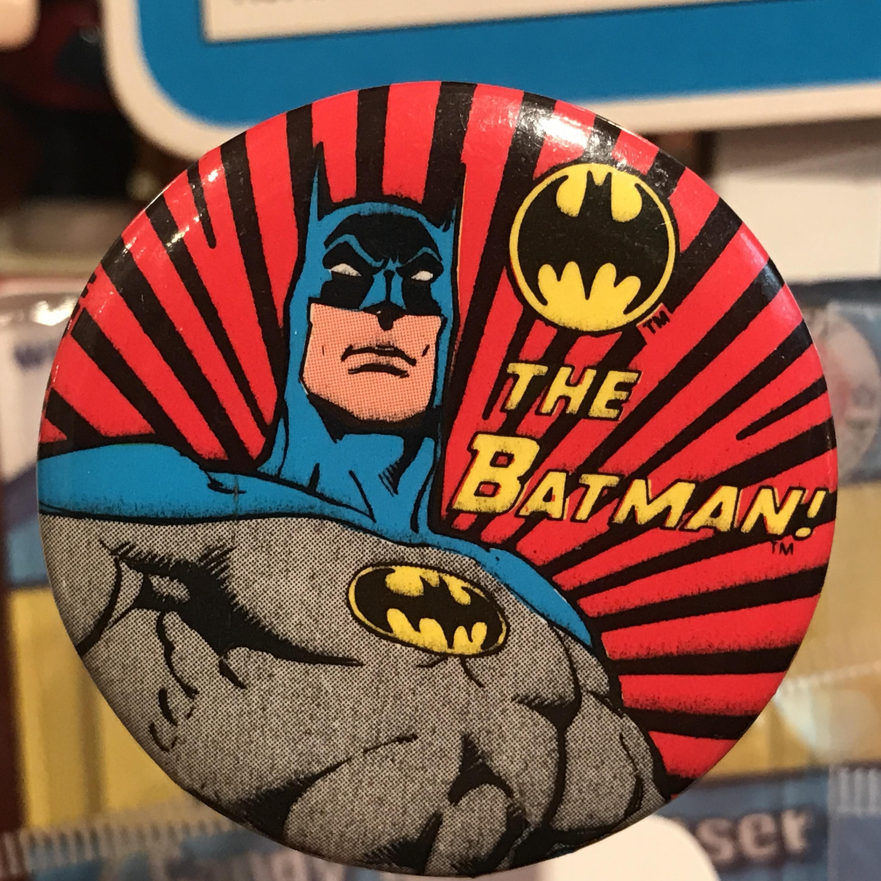 バットマン オールド 缶バッジ ストライプver.