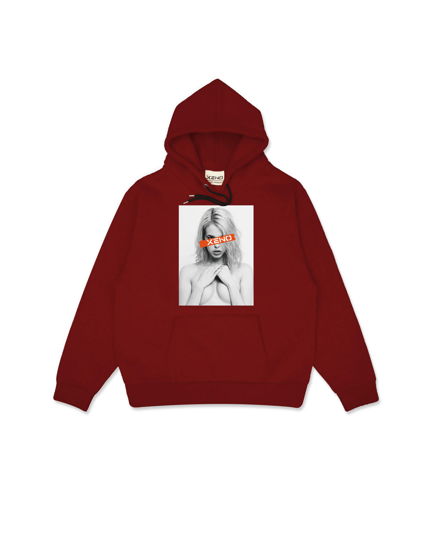 Dream Woman Hoodie Red