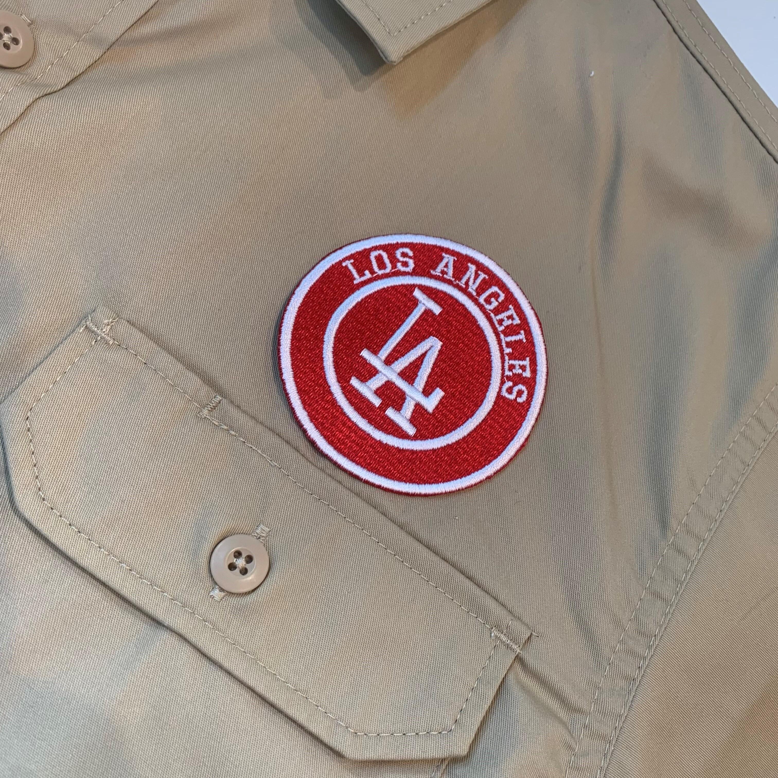 PATCHIES 【ワッペン】 LA ロサンゼルス ワークシャツ
