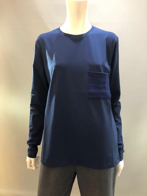 H.A.N.D (ハンド)イタリア製 ロングスリーブTシャツ 35902 0019