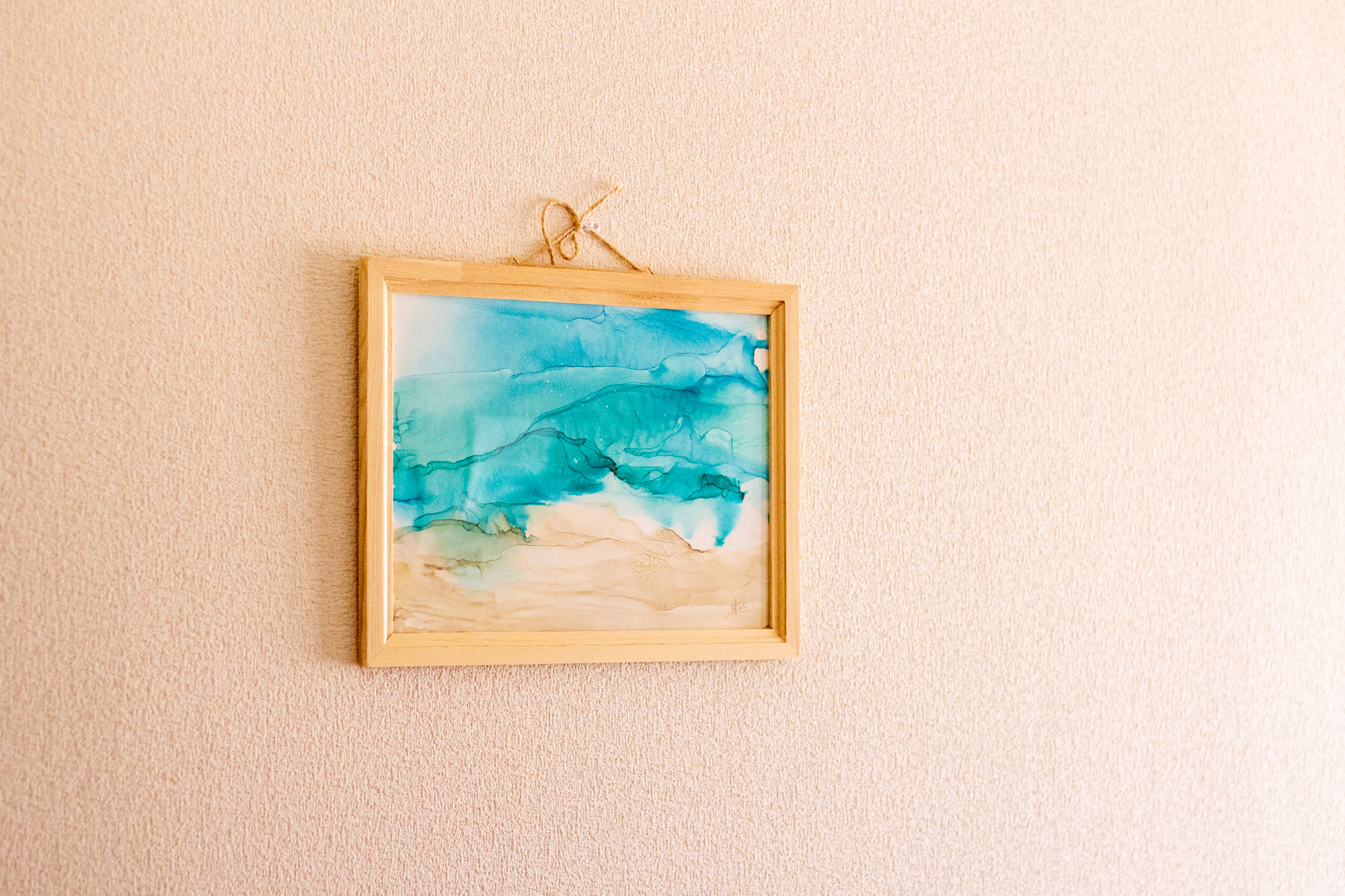 アルコールインクアート021『海風-Sea Breeze-』