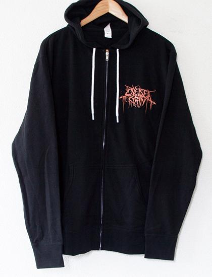 【CHELSEA GRIN】Eternal Nightmare Zip Up Hoodie (Black)
