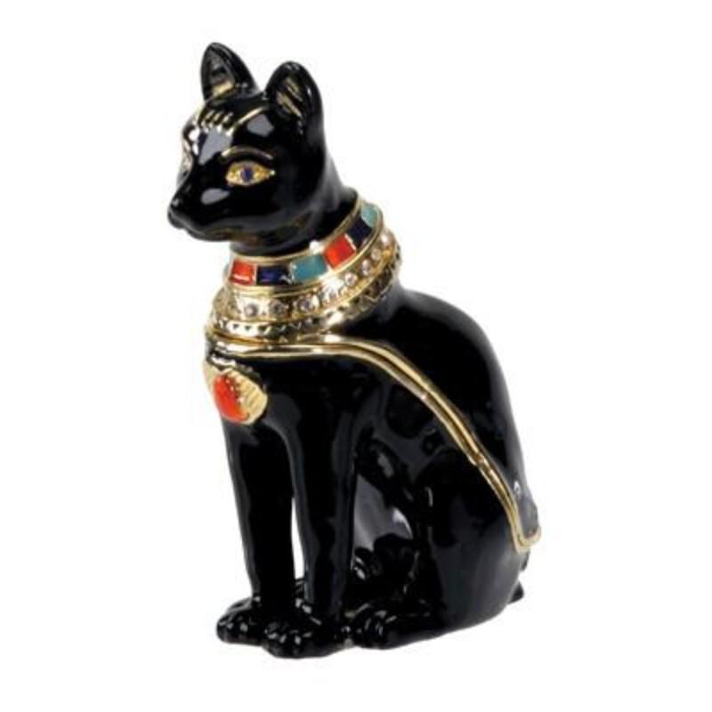 YTC7425 バステト神 ジュエルボックス バステト 宝石箱 Bastetエジプシャン・置物・フィギュア・古代エジプト
