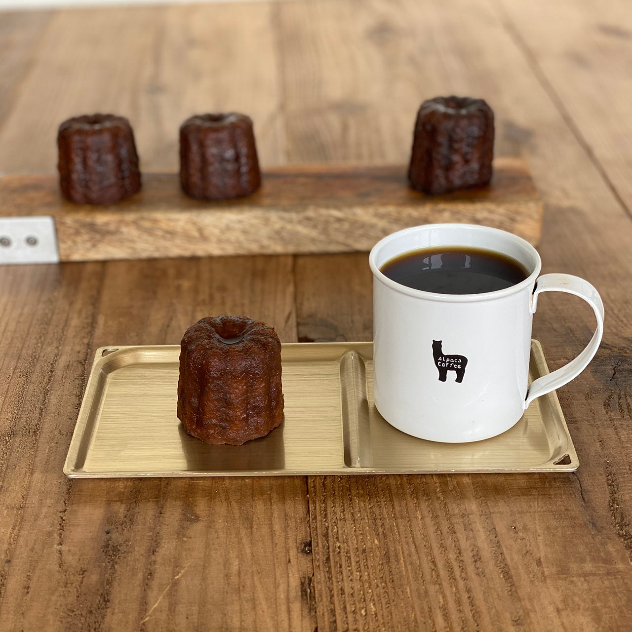 [2/25より発送]2月アルパカマフィン4種とコーヒーカヌレ4個*冷凍商品