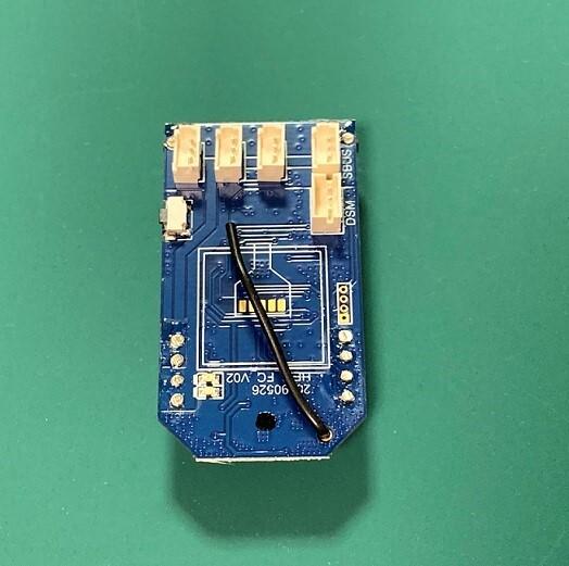 ◆OSHM2071  旧M2専用ジャイロ、受信機コントローラーボード (ネオヘリでM2購入者のみ購入可)