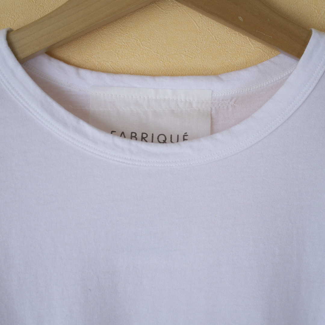 Fabrique en planete terre ファブリケアンプラネテール basic l/s tee 天竺ベイーシックTシャツ