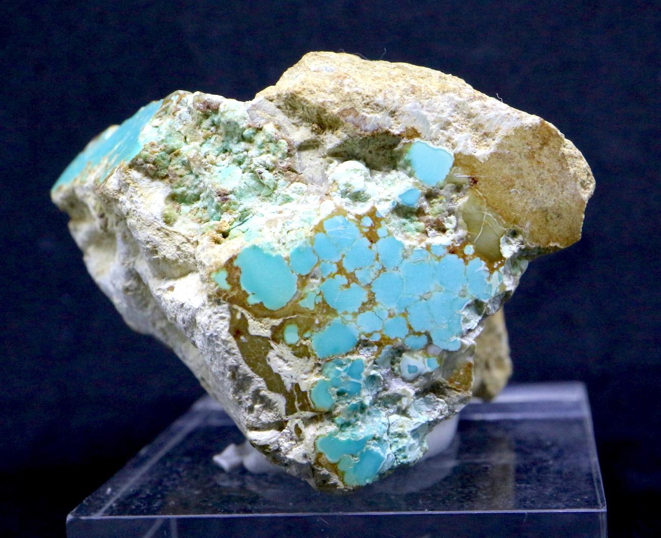 ロイストン ターコイズ トルコ石 ネバタ州産 原石 107,1g TQ142 鉱物 天然石 パワーストーン