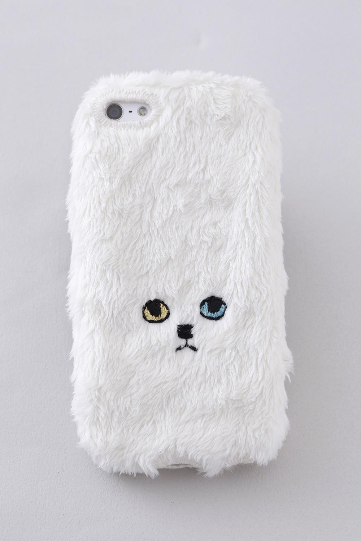 【KEORA KEORA】ネコiPhone6/6Sカバー(ホワイト)