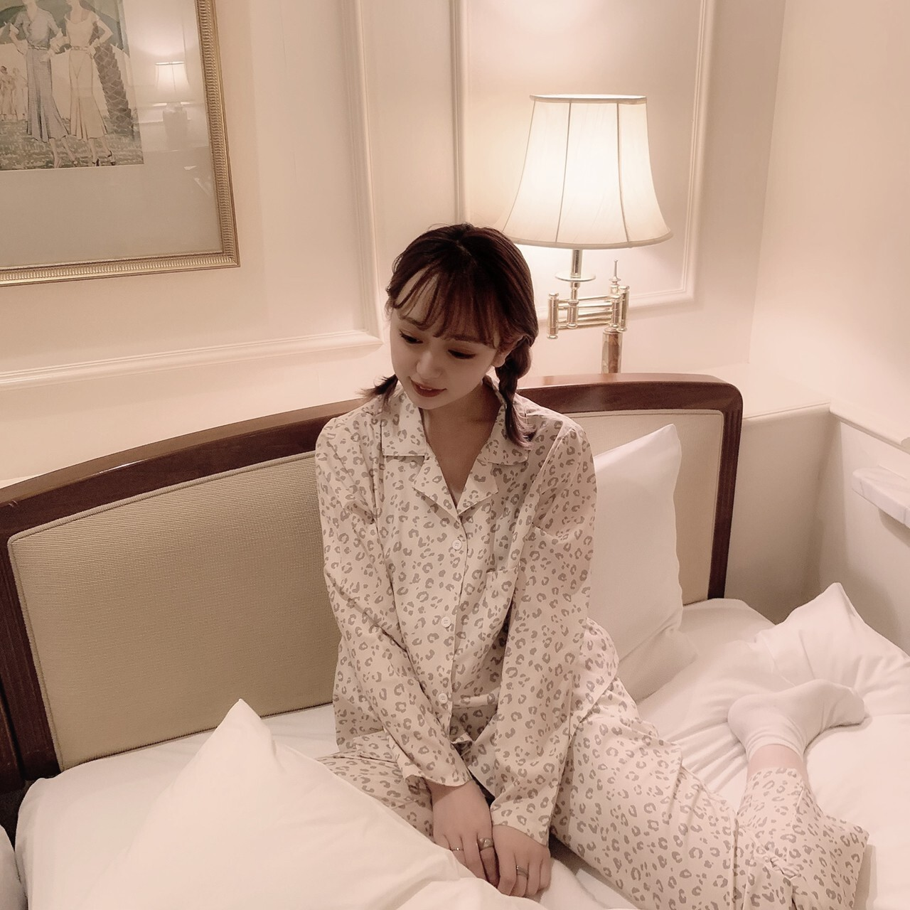 【meltie】leopard pajama