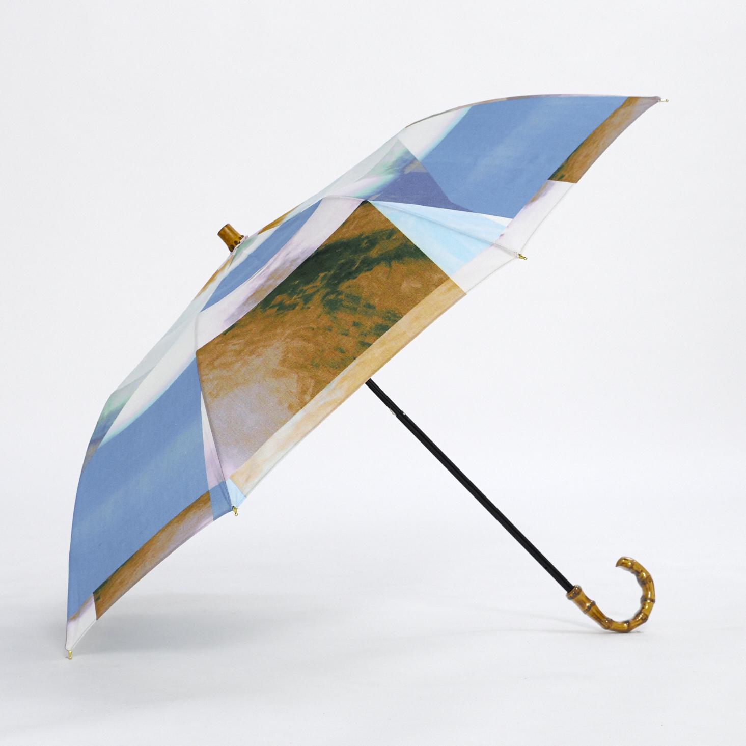 晴雨兼用の折りたたみ日傘 - BRAND NEW DAY - 1color