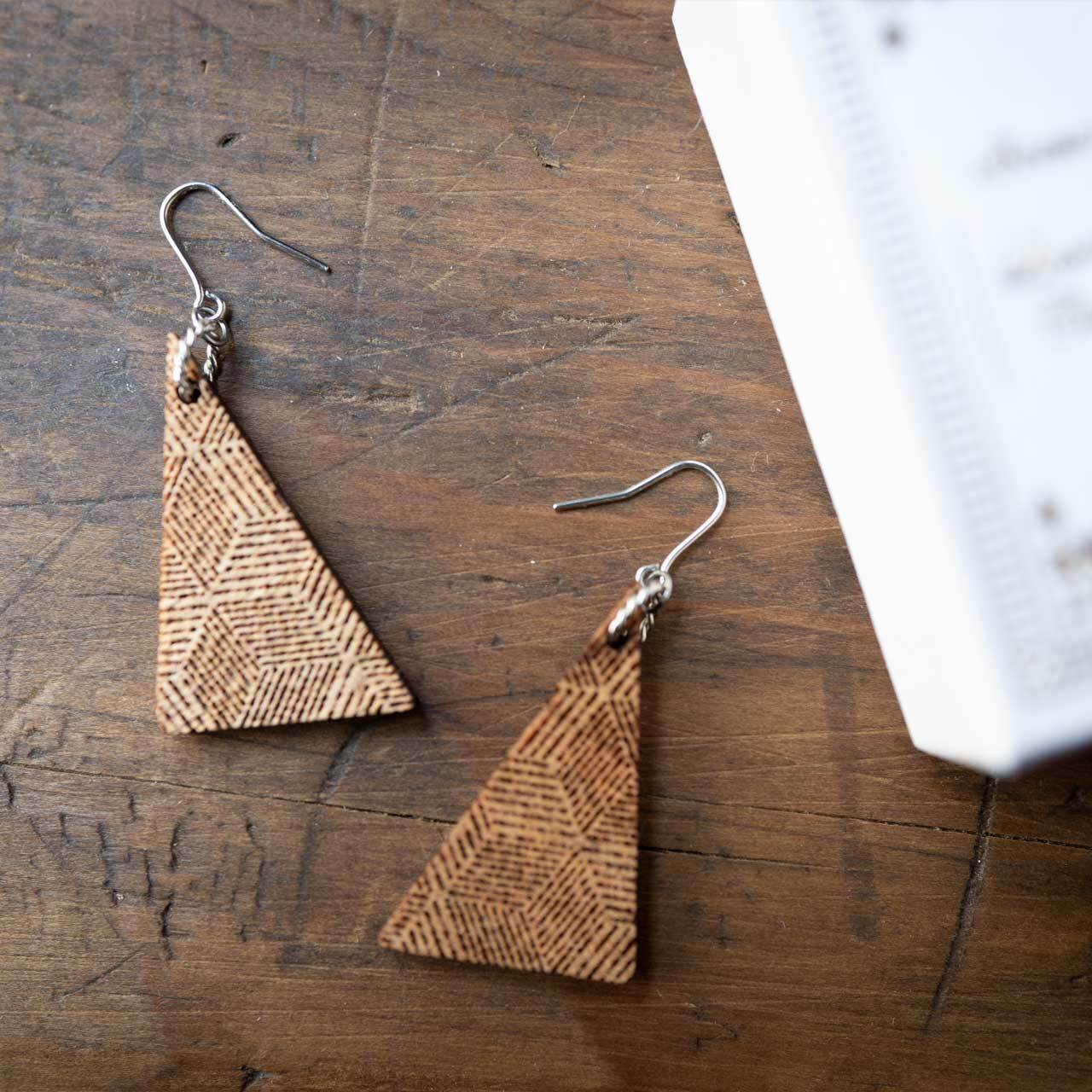 right triangle / 直角三角形(Pierced Hang)