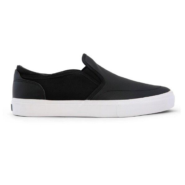 STATE FOOTWEAR KEYS ×BEN GORE FULL GRAIN IEATHER BLACK/WHITE