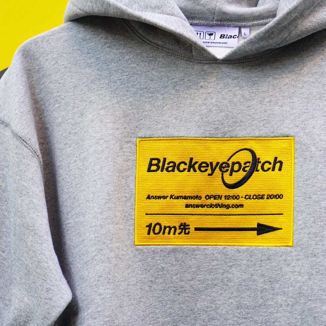 BLACK EYE PATCH × ANSWER / 2nd Anniversary Limited Hoodie