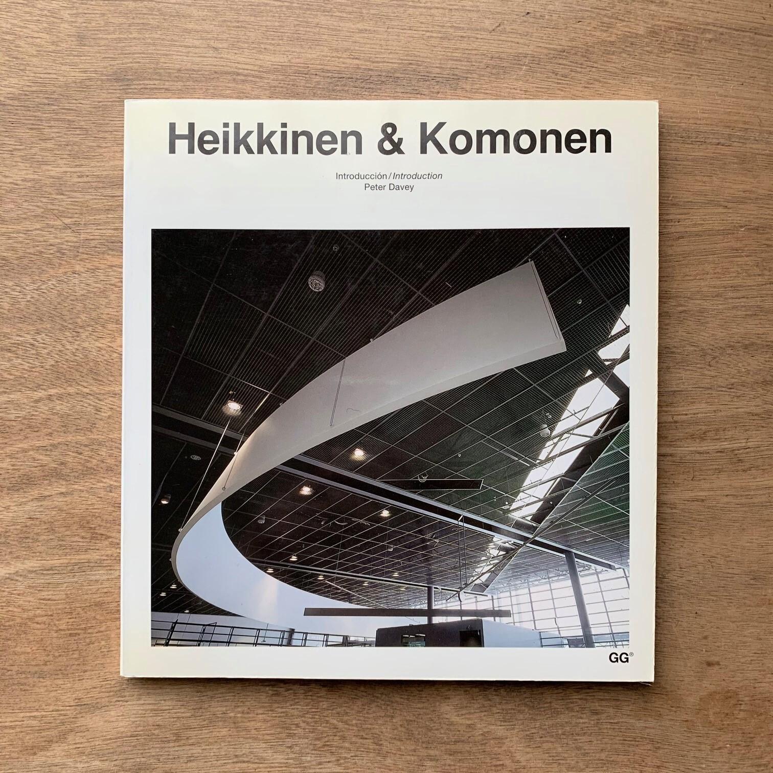 Heikkinen & Komonen  /  Current Architecture Catalogues