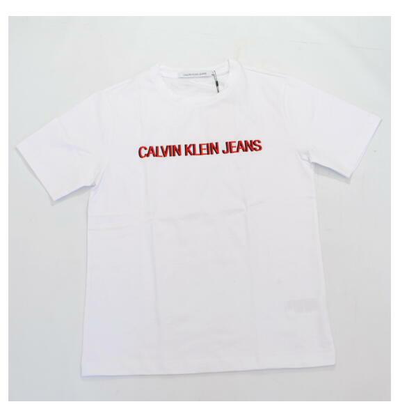 Calvin Klein Jeans カルバンクライン ジーンズ ロゴ 半袖 Tシャツ ホワイト J311228