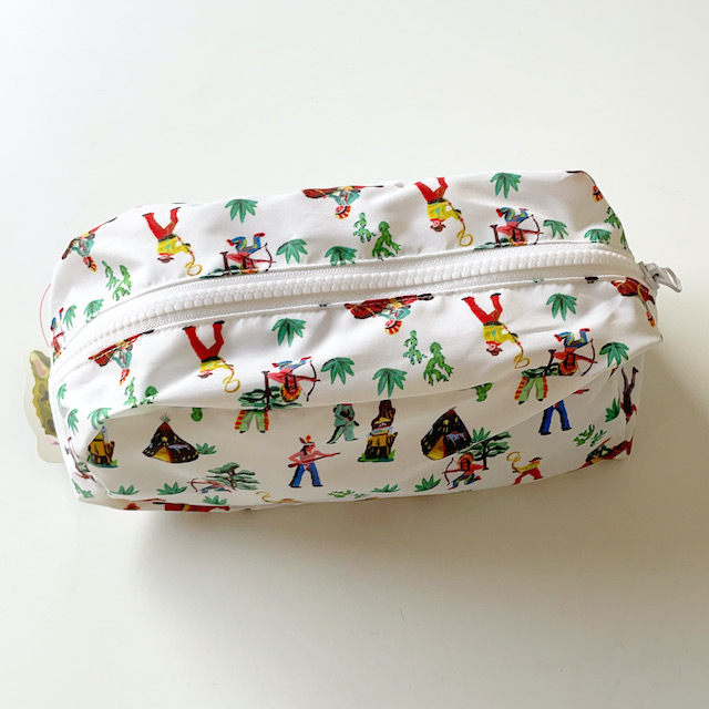 Nathalie Lete Oblong pouch Indian ナタリーレテ ポーチ インディアン