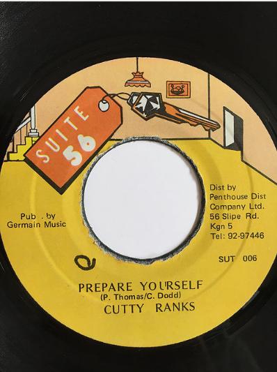 Cutty Ranks(カッティランクス) - Prepare Yourself【7'】