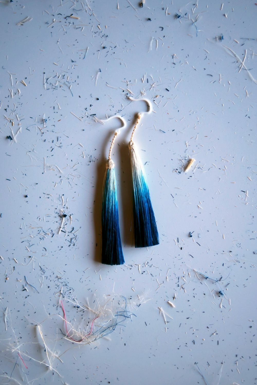 AOSO and SILK earrings ( for custom order )